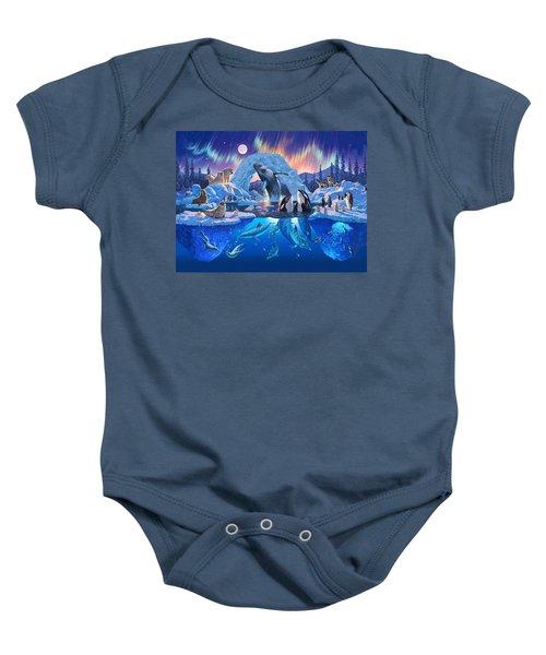Arctic Harmony Baby Onesie