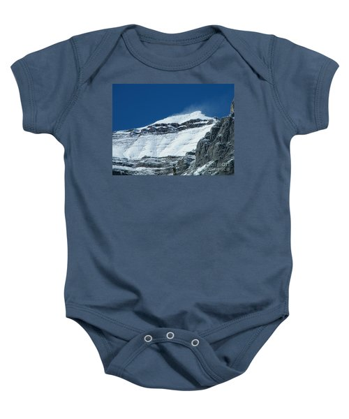 Blowing Snow Baby Onesie