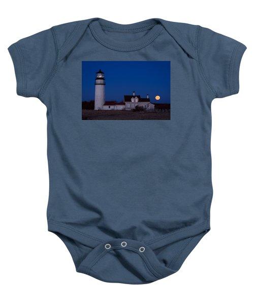 Cape Cod Moonset Baby Onesie