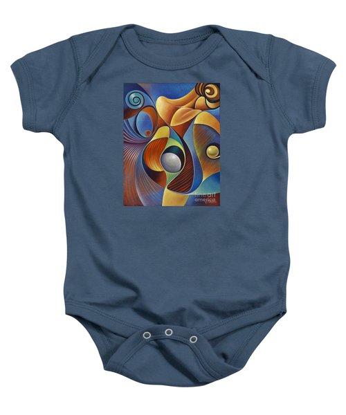 Dynamic Series #22 Baby Onesie