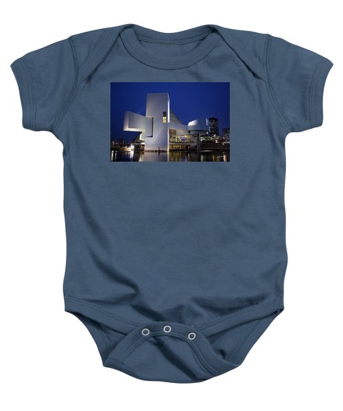 Home Of Rock 'n Roll Baby Onesie