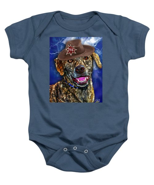 I'm A Canine Community Reporter Baby Onesie