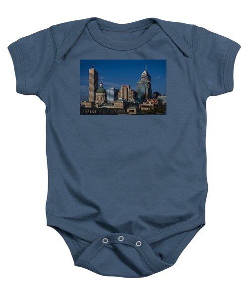 Indianapolis Skyscrapers Baby Onesie