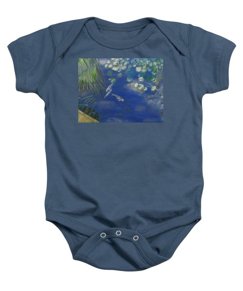 Koi At Red Butte Gardens Baby Onesie