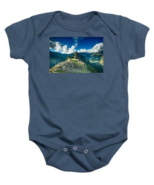 Machu Picchu Baby Onesie