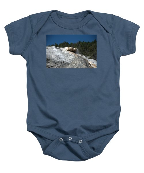 Mammoth Hot Springs 1 Baby Onesie