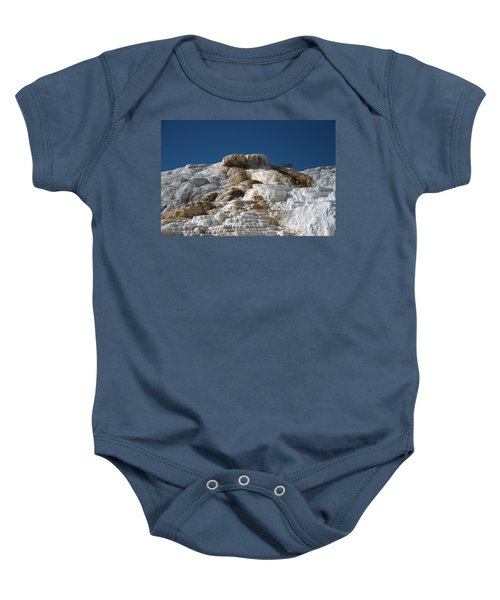 Mammoth Hotsprings 4 Baby Onesie