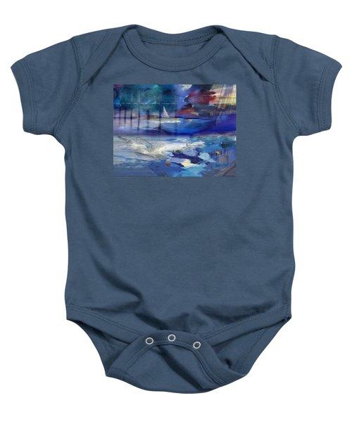 Maritime Fantasy Baby Onesie