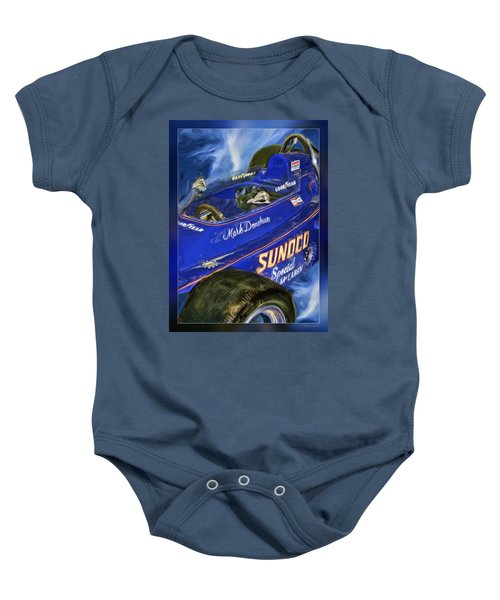 Mark Donohue 1972 Indy 500 Winning Car Baby Onesie