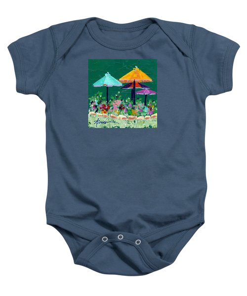 Meet Me At The Cafe Baby Onesie