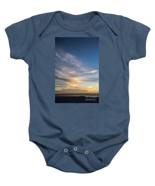 Moon Over Doheny Baby Onesie