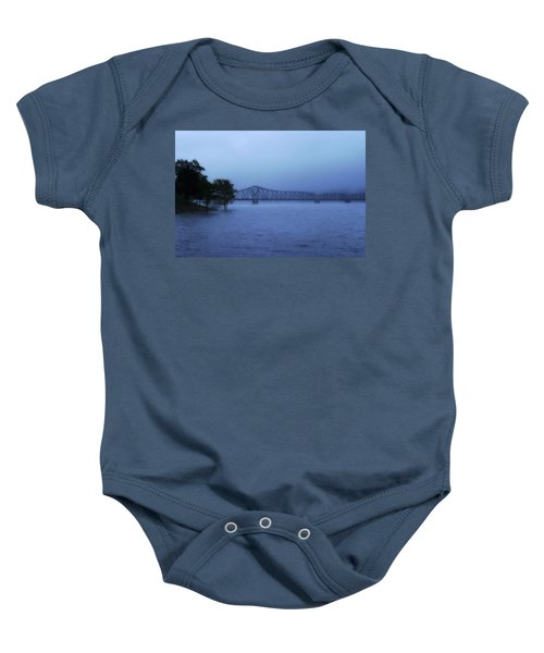 Morning Blues  Baby Onesie