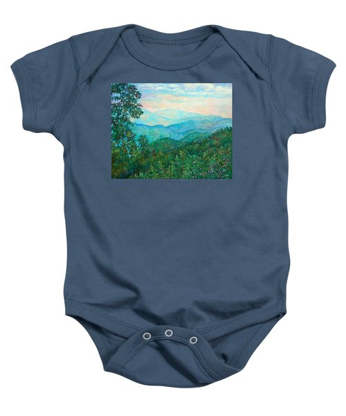 Baby Onesie featuring the painting Near Purgatory by Kendall Kessler