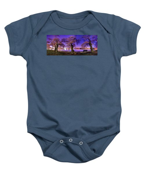 Night Blossoms 2014 Baby Onesie