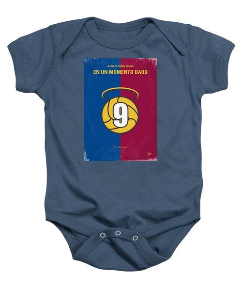 No272 My En Un Momento Dado Minimal Movie Poster Baby Onesie