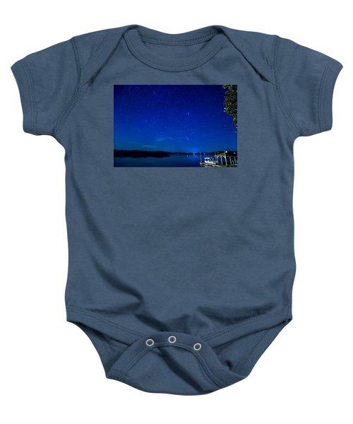 Perseid Meteor Baby Onesie