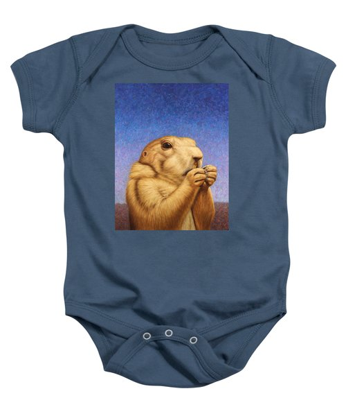 Prairie Dog Baby Onesie by James W Johnson