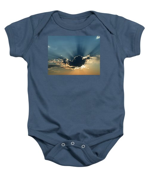 Rays Of Light Baby Onesie