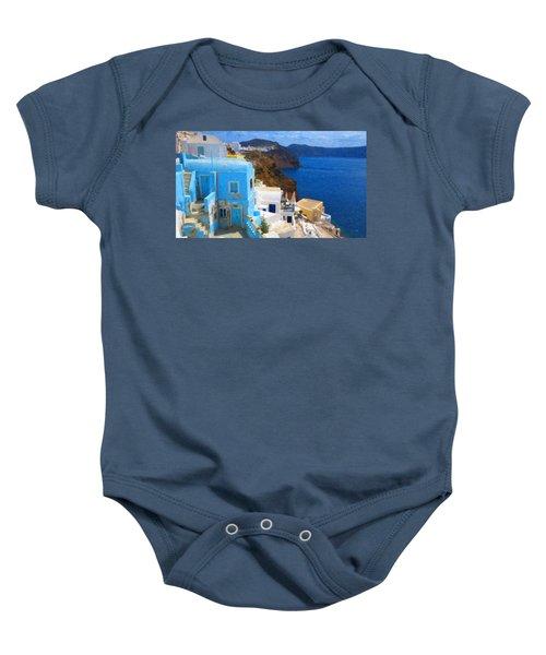 Santorini Grk2806 Baby Onesie