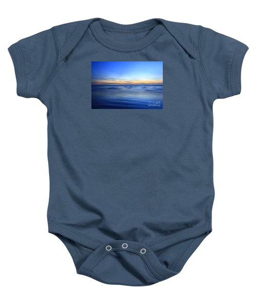 Rocks In Surf Carlsbad Baby Onesie
