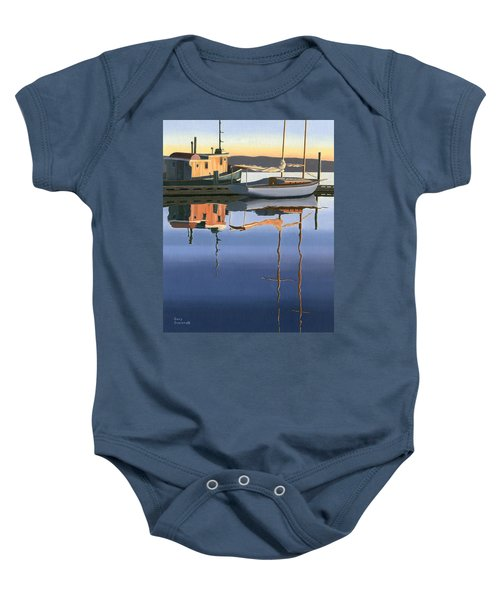 South Harbour Reflections Baby Onesie