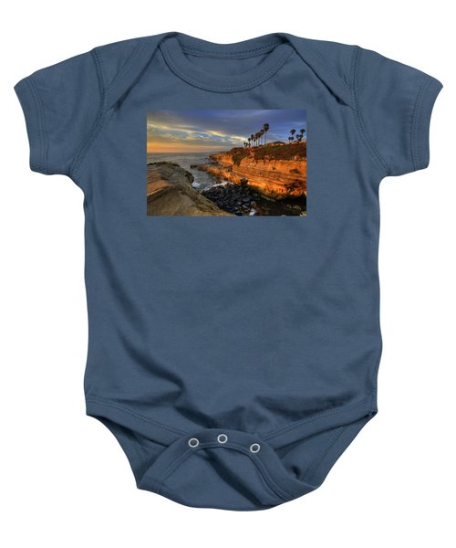 Sunset Cliffs Baby Onesie