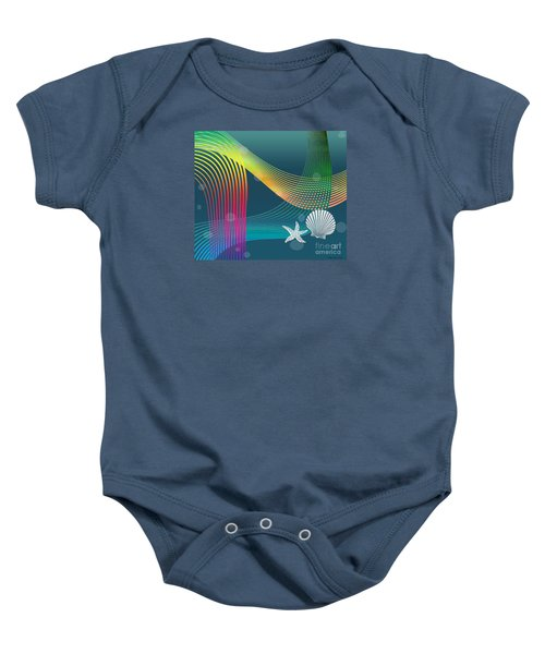 Sweet Dreams2 Abstract Baby Onesie