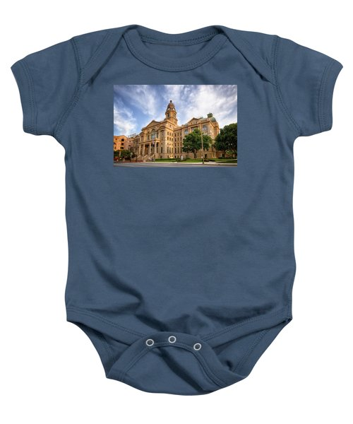 Tarrant County Courthouse II Baby Onesie