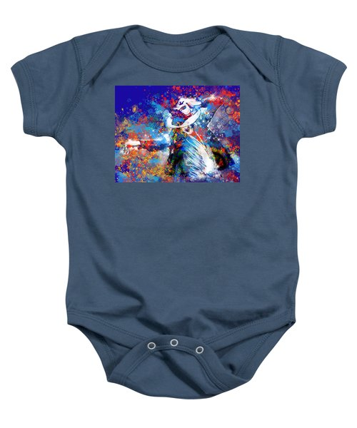 The King 3 Baby Onesie