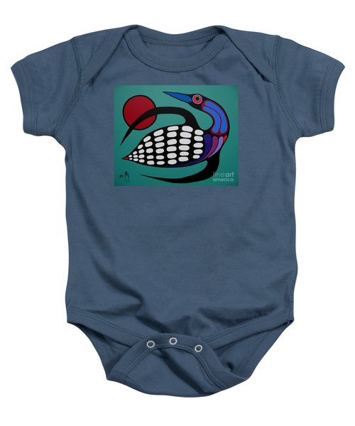 The Majestic Loon Baby Onesie