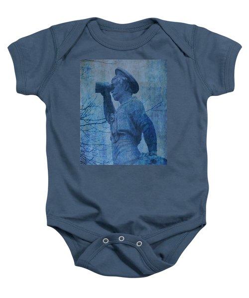 The Seaman In Blue Baby Onesie