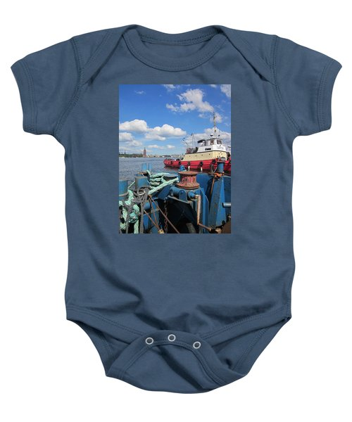 The Shipyard Baby Onesie