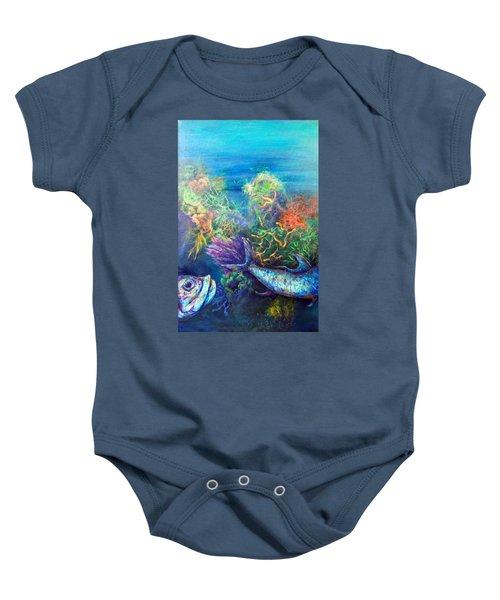 Jesus Reef  Baby Onesie