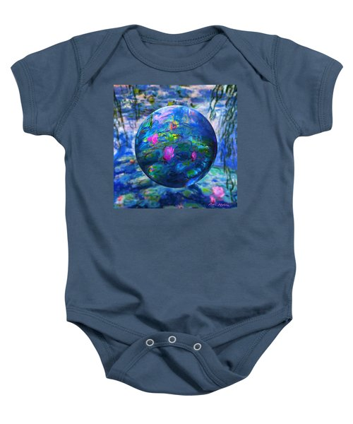 Lilly Pond Baby Onesie