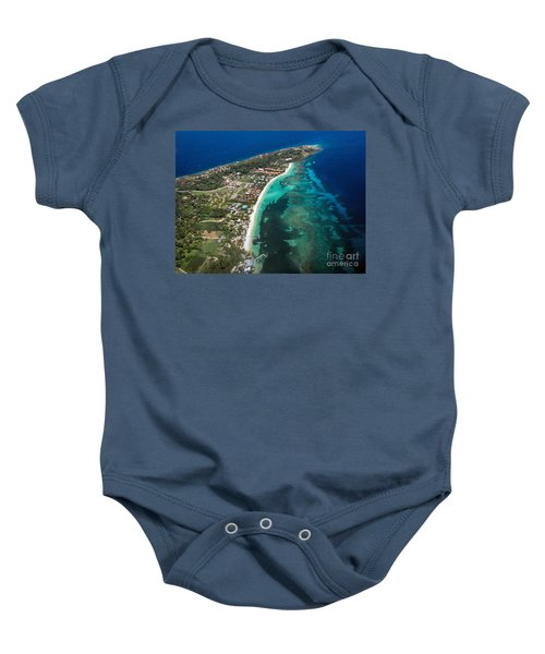 West End Roatan Honduras Baby Onesie