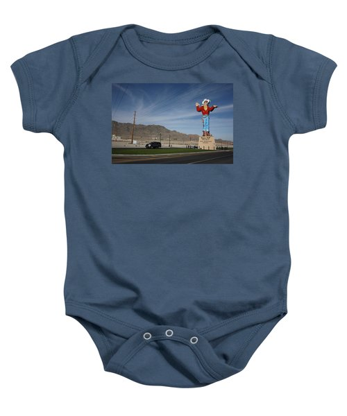 Baby Onesie featuring the photograph West Wendover Nevada by Frank Romeo