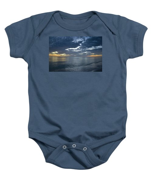Whispers At Sunset Baby Onesie