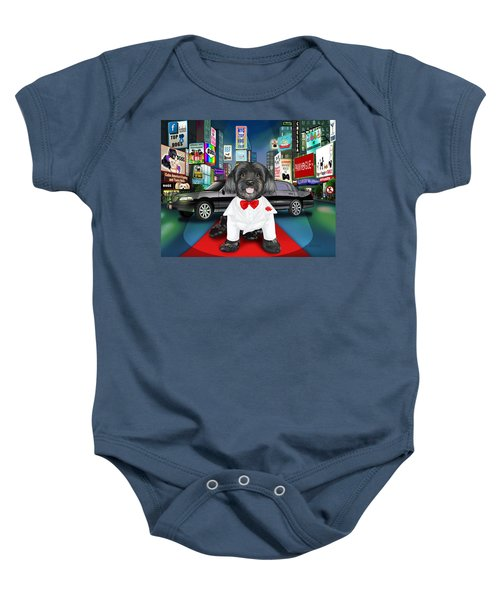 Sir Cuba Of Chelsea In Times Square Nyc Baby Onesie