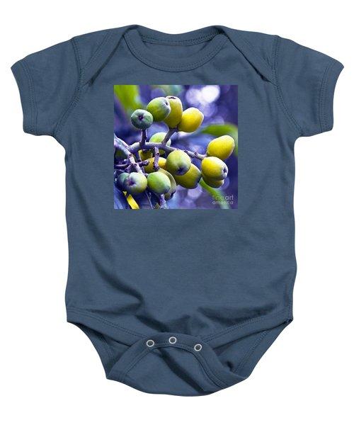 Sicilian Fruits Baby Onesie