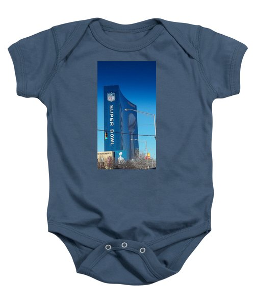 Indianapolis Marriott Welcomes Super Bowl 46 Baby Onesie