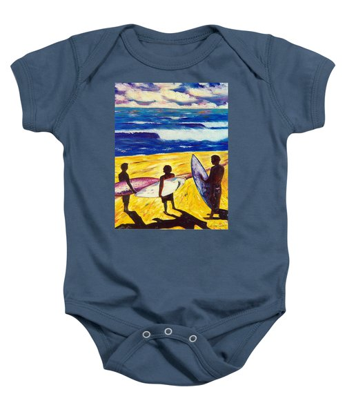 Surf's Up Baby Onesie