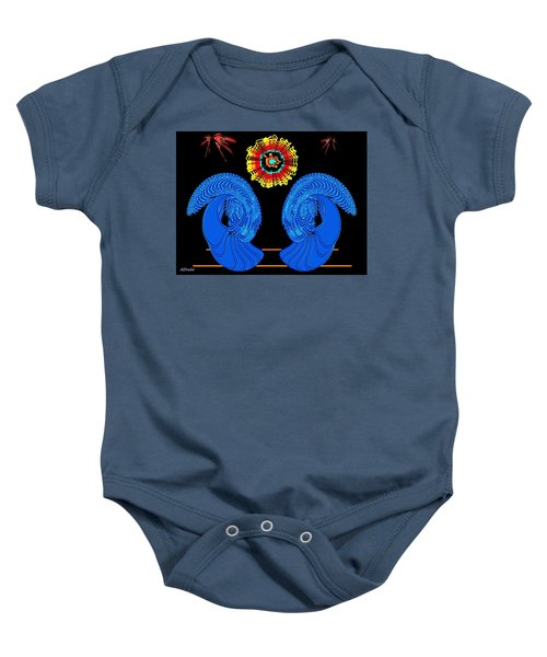 Worship Of The Dying Sun Baby Onesie