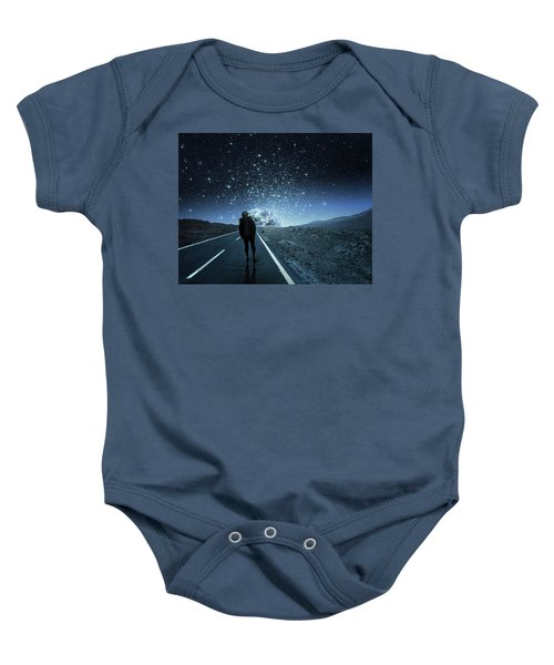 Dreams Baby Onesie by Berebel Co By Angel Caulin
