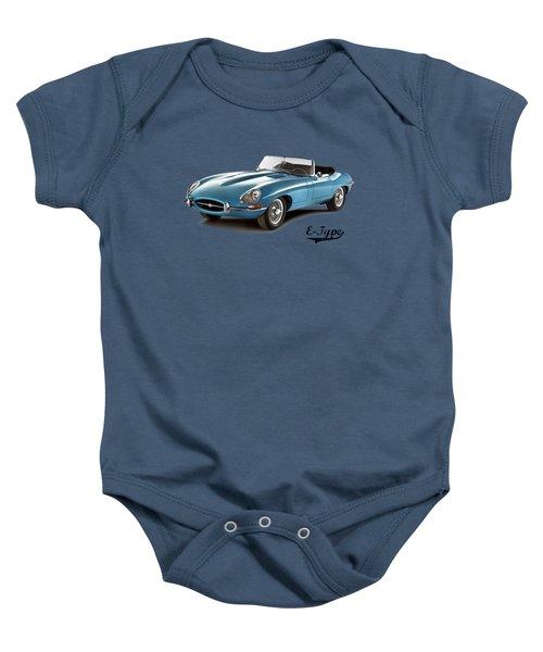Jaguar E-type Baby Onesie