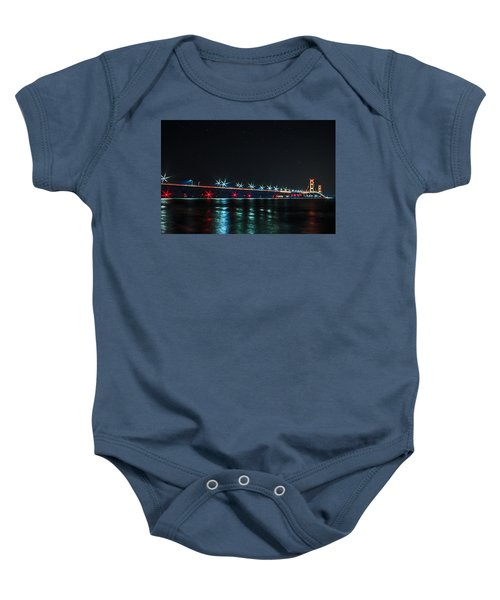 Mackinac Bridge  Baby Onesie