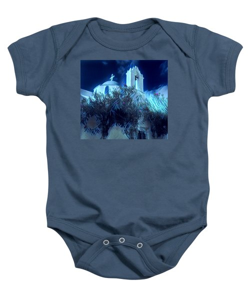 Baby Onesie featuring the photograph Paros Island Beauty Greece  by Colette V Hera Guggenheim