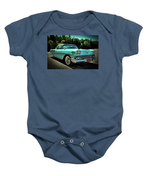 1958 Chevrolet Impala Baby Onesie