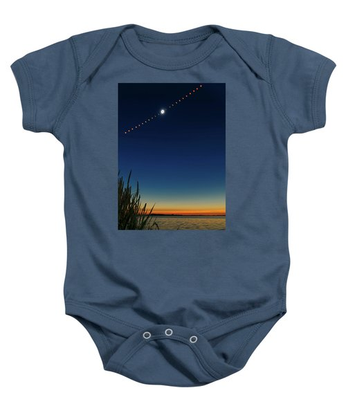 2017 Great American Eclipse Baby Onesie