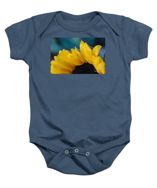 A Cool Sunflower Baby Onesie