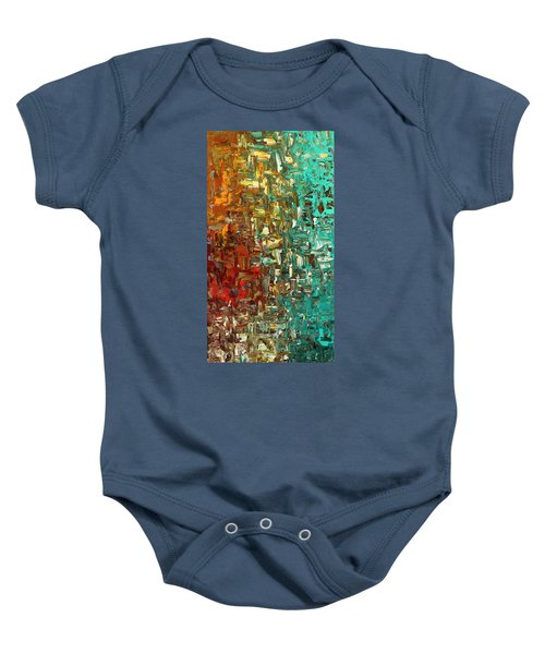 A Moment In Time - Abstract Art Baby Onesie